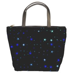 Awesome Allover Stars 02 Bucket Bags