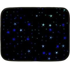 Awesome Allover Stars 02 Fleece Blanket (Mini)