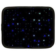 Awesome Allover Stars 02 Netbook Case (XL)