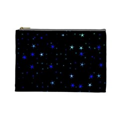 Awesome Allover Stars 02 Cosmetic Bag (Large)