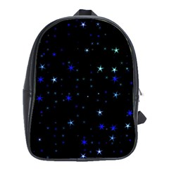 Awesome Allover Stars 02 School Bags(large)