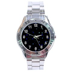 Awesome Allover Stars 02 Stainless Steel Analogue Watch