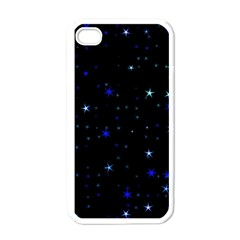 Awesome Allover Stars 02 Apple iPhone 4 Case (White)