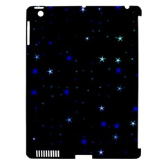 Awesome Allover Stars 02 Apple iPad 3/4 Hardshell Case (Compatible with Smart Cover)