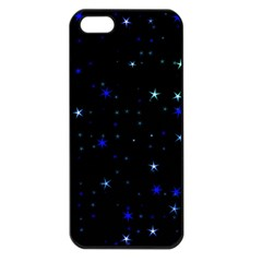 Awesome Allover Stars 02 Apple iPhone 5 Seamless Case (Black)