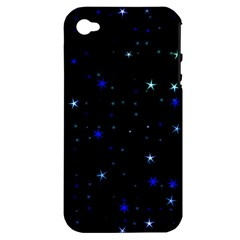 Awesome Allover Stars 02 Apple iPhone 4/4S Hardshell Case (PC+Silicone)
