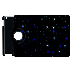 Awesome Allover Stars 02 Apple iPad 3/4 Flip 360 Case
