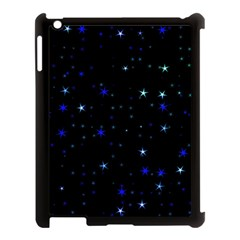 Awesome Allover Stars 02 Apple iPad 3/4 Case (Black)
