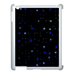 Awesome Allover Stars 02 Apple iPad 3/4 Case (White)