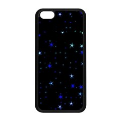 Awesome Allover Stars 02 Apple iPhone 5C Seamless Case (Black)