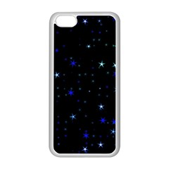 Awesome Allover Stars 02 Apple iPhone 5C Seamless Case (White)