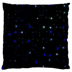 Awesome Allover Stars 02 Standard Flano Cushion Case (one Side)