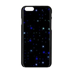 Awesome Allover Stars 02 Apple iPhone 6/6S Black Enamel Case