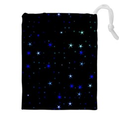 Awesome Allover Stars 02 Drawstring Pouches (XXL)