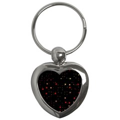 Awesome Allover Stars 02b Key Chains (Heart)