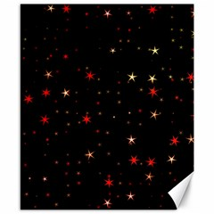 Awesome Allover Stars 02b Canvas 8  x 10