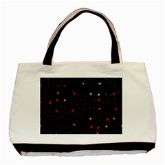 Awesome Allover Stars 02b Basic Tote Bag (Two Sides)