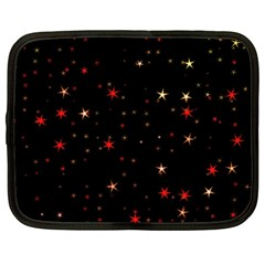 Awesome Allover Stars 02b Netbook Case (XXL)