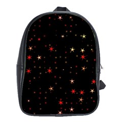 Awesome Allover Stars 02b School Bags(Large)