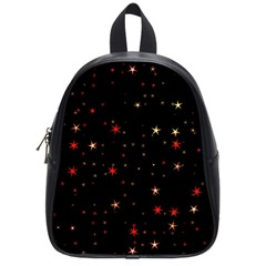 Awesome Allover Stars 02b School Bags (Small)