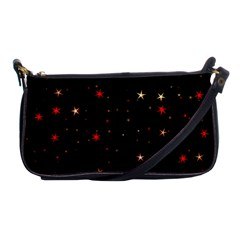 Awesome Allover Stars 02b Shoulder Clutch Bags