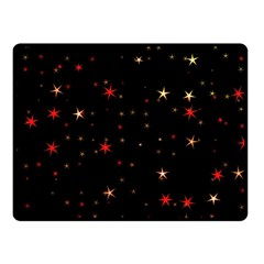 Awesome Allover Stars 02b Fleece Blanket (Small)