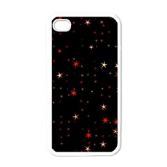 Awesome Allover Stars 02b Apple iPhone 4 Case (White)