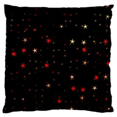 Awesome Allover Stars 02b Large Cushion Case (Two Sides)