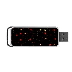 Awesome Allover Stars 02b Portable USB Flash (One Side)