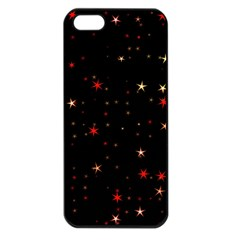Awesome Allover Stars 02b Apple Iphone 5 Seamless Case (black)