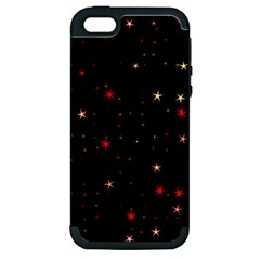 Awesome Allover Stars 02b Apple iPhone 5 Hardshell Case (PC+Silicone)
