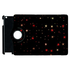 Awesome Allover Stars 02b Apple iPad 2 Flip 360 Case