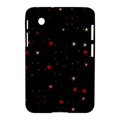 Awesome Allover Stars 02b Samsung Galaxy Tab 2 (7 ) P3100 Hardshell Case