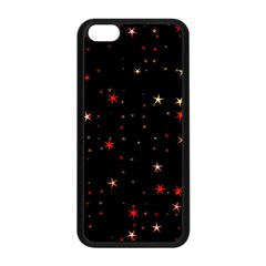 Awesome Allover Stars 02b Apple iPhone 5C Seamless Case (Black)