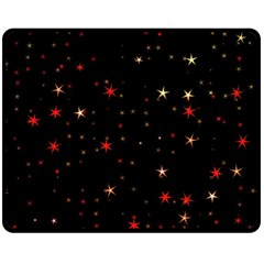 Awesome Allover Stars 02b Double Sided Fleece Blanket (Medium)