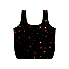 Awesome Allover Stars 02b Full Print Recycle Bags (S)