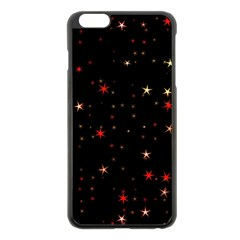 Awesome Allover Stars 02b Apple iPhone 6 Plus/6S Plus Black Enamel Case