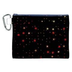 Awesome Allover Stars 02b Canvas Cosmetic Bag (XXL)