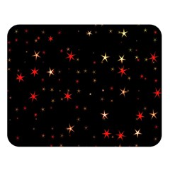 Awesome Allover Stars 02b Double Sided Flano Blanket (Large)