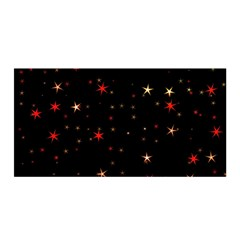 Awesome Allover Stars 02b Satin Wrap