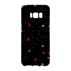 Awesome Allover Stars 02b Samsung Galaxy S8 Hardshell Case
