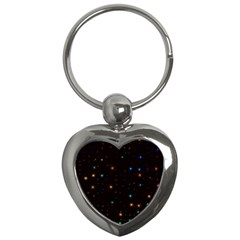 Awesome Allover Stars 02e Key Chains (Heart)