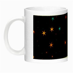 Awesome Allover Stars 02e Night Luminous Mugs
