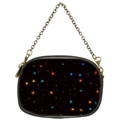 Awesome Allover Stars 02e Chain Purses (Two Sides)