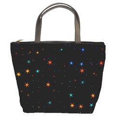 Awesome Allover Stars 02e Bucket Bags