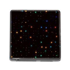Awesome Allover Stars 02e Memory Card Reader (Square)