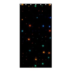 Awesome Allover Stars 02e Shower Curtain 36  x 72  (Stall)