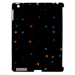 Awesome Allover Stars 02e Apple iPad 3/4 Hardshell Case (Compatible with Smart Cover)