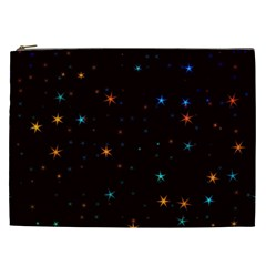 Awesome Allover Stars 02e Cosmetic Bag (XXL)