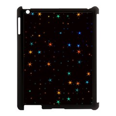 Awesome Allover Stars 02e Apple iPad 3/4 Case (Black)